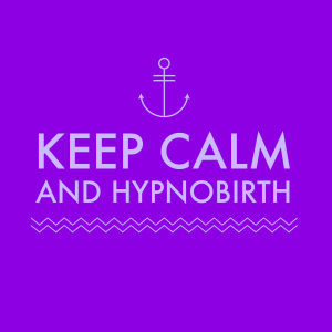 keep calm purple